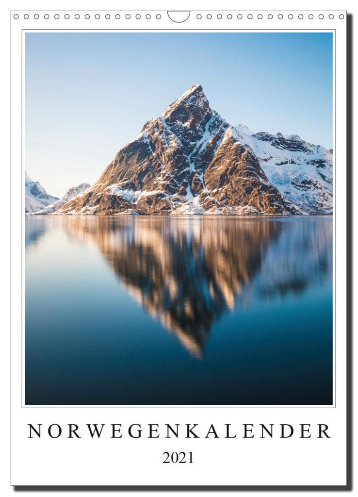 Norwegen Landschaftskalender 2021