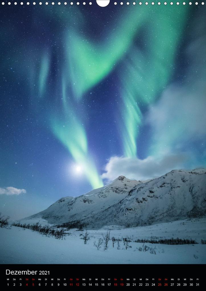 Polarlichter Kalender 2021 Sebastian Worm